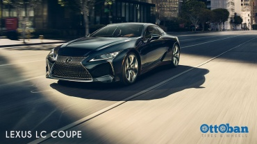 Lexus LC Coupe Mewah dan Sporty