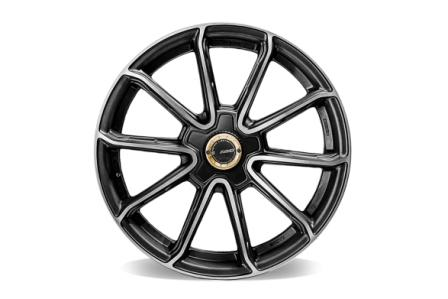 RAYS 57 GETTER Ring 18 5X100 Black (2)