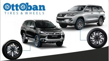 Velg SUV Fortuner dan Pajero Sport Idaman Pecinta Otomotif