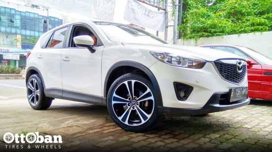 Mazda CX-5 Tampil Beda dan Gagah Dengan Pakai Velg AMW Ring 20