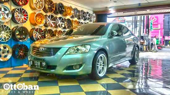 Panduan Modifikasi Velg Toyota Camry 2011