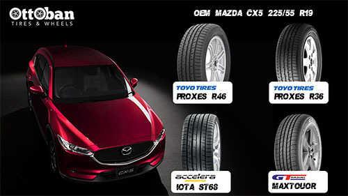 Top 3 Ban Mobil Terbaik untuk Mobil SUV Mazda CX5