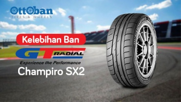 Ban GT Champiro SX2 Cocok Untuk Drifting