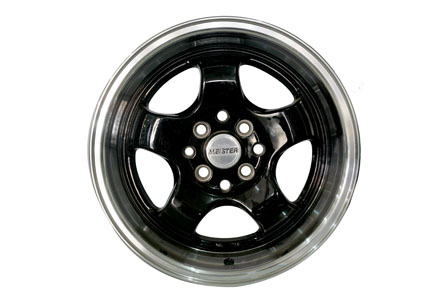 Meister MSC84 Ring 15X7.08.0 PCD 8X100-114,3 Gloss Black Lip Machine