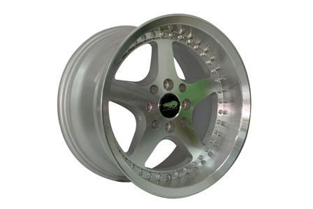 Prospeed Work Ring 15X7.0-8.5 PCD 8X100-114,3 Silver Lip Polish