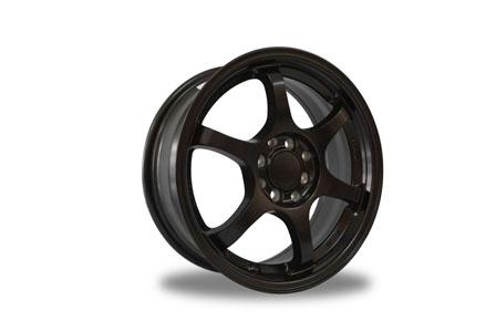 SSR Tipe C Ring 16X6.5 PCD 8X100-114,3 ET +38 Satin Black