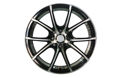 WedsSport 729 Ring 16X7.0 PCD 8X100-114,3 ET 40 Gloss Black Machined Face Undercut