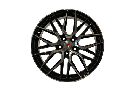Vorsteiner VE 107 Ring 18X8.0 PCD 5X114,3 ET +40 Black Machine Face
