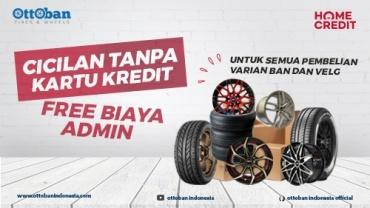 Promo Beli Velg Mobil dan Ban Mobil Bisa dicicil dan Free Biaya Admin di Ottoban