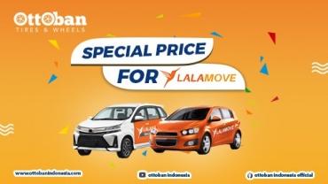 PROMO SPECIAL PRICE UNTUK DRIVER LALAMOVE